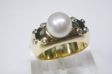 真珠箱ものリング