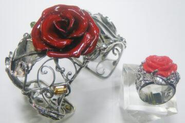 SV紅薔薇リング・ブレス