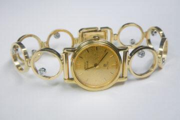 時計ベルト ダイヤ8P