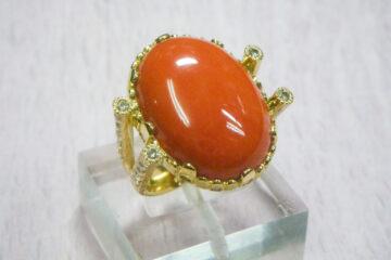 K18 サンゴのリング